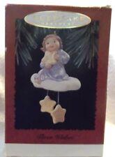 Hallmark 1995 Three Wishes Angel Star Cloud Christmas Ornament - NEVER DISPLAYED