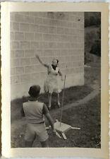 PHOTO ANCIENNE - VINTAGE SNAPSHOT - JOKARI JEU JOUET LOISIRS - PLAYING GAMES TOY