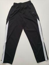 Youth Boys Pants Athletic EVERLAST  XL 14/16 Black w White Stripes Pockets