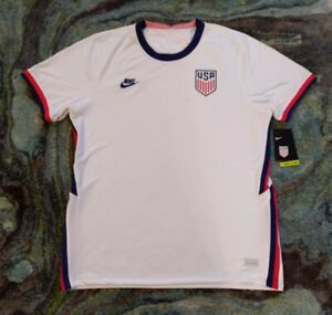 2020/2021 USMNT (XL) Home Jersey Nike Breathe US Soccer NWT CD0737-100