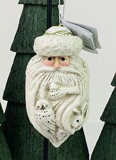 Pam Schifferl Winter White Santa with Animals Ornament Midwest of Cannon Falls