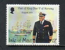 ISLE OF MAN MNH 1980 SG179 VISIT OF KING OLAV OF NORWAY