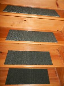13 = Step Indoor Stair Treads  Staircase Carpet 8'' x 24''