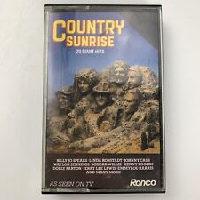 Country Sunrise 20 Giant Hits (Cassette)