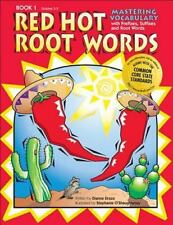 Red Hot Root Words, Book 1 (Red Hot Root Words) by Dianne Draze