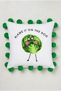 Blame It On The Dog Cushion SPROUT CUSHION 43 X 43CM By NEXT