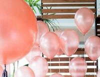 """Rose Gold Balloon Birthday Wedding Party Bride Baby Shower Engaged Latex 5"""""""
