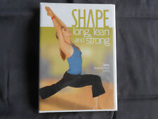 Shape - Long, Lean and Strong (DVD, 2006)
