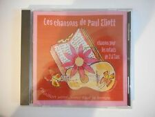 PAUL ELIOTT : CHANSONS POUR LES ENFANTS DE 2 à 7 ANS || CD NEUF! PORT 0€