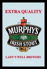 Beer Murphys Irish Stout - 20x30 cm bedruckter Spiegel im Kunststoff Rahmen