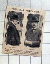 1915 The Dead Bride's Case, Uncle And Brother Of Beatrice Mundy