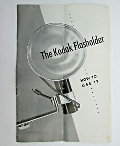 Paper Only The Kodak Flasholder How To Use It
