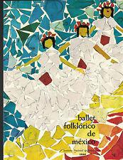Ballet Folklorico de Mexico 1966 Program English Edition