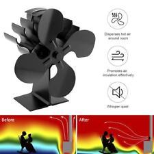 Heat Powered Wood Stove Fan for wood/log burner /fireplace Eco Friendly Fan New