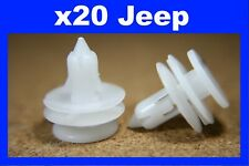 For Jeep 20 door card panel trim fascia lining fastener clips