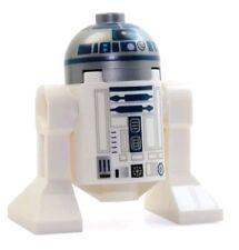 LEGO Star Wars R2-D2 Minifigure Astromech droid Silver Dark Blue Lavender dot