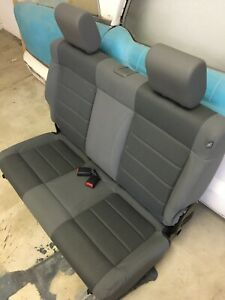 NEW 2007-2018 JEEP WRANGLER JK REAR SEAT SLATE TWO DOOR THIRD ROW CONVERSION OEM