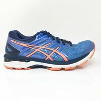 Asics Womens GT 2000 5 T757N Blue Orange Running Shoes Lace Up Low Top Size 8