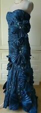 TERANI COUTURE  MIDNIGHT BLUE PROM/BALL DRESS SIZE US 8 UK 10