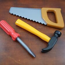 Tools Cake Topper Bakery Crafts Birthday Masculine Father saw hammer screwdriver