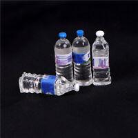 4Puppenhaus Miniatur Mineralwasser in Flaschen,Wohnaccessoires imMaßstab1/6&1W_4