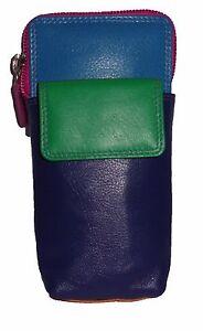 Graffiti/Golunski Leather Glasses Case/ Holder Style 7123 colours various new