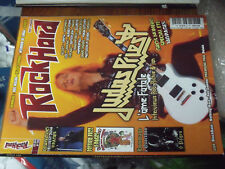 11µµ Revue Rock Hard n°145 Judas Priest Quorthon Doc Neeson Accept Opeth Chicago