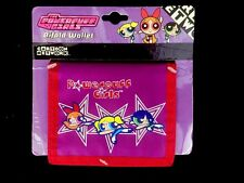 Cartoon Network The Powerpuff Girls Vinyl Bifold Wallet On Card Warner Bros