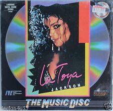 LATOYA JACKSON Laserdisc Spectalular Concert LD Rare
