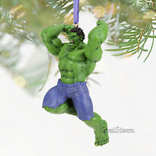 2012 Incredible Hulk Sketchbook Christmas Holiday Ornament Disney Store Marvel