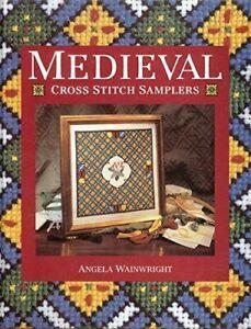 Medieval Cross Stitch Samplers Book by Wainwright, Angela HBDJ