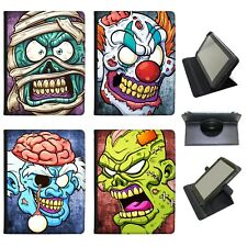 Azzumo Scary Zombie Walking Living Dead PU Leather Case for the Samsung Tablet