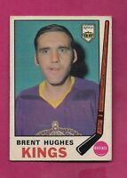 1969-70 OPC # 144 KINGS BRENT HUGHES EX ROOKIE CARD  (INV# 8108)