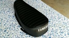 Yamaha 90 HT1 1970-1971 replacement seat cover best quality white dyed logo(Y60)