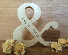 personalised handmade engagement or wedding gift/present