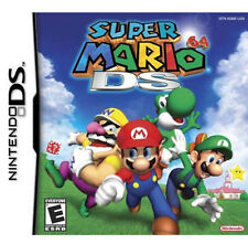 Super Mario 64 DS Version GAME ONLY TEST GOOD WORKING (Nintendo DS)