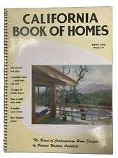 Vintage Rare 1951 California Book of Homes Neutra Eichler Schindler MCM Modern
