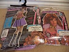 MONSTER HIGH PRETEND CHILDS COSTUME CLAWDEEN WOLF W/ WIG SZ SMALL 4-6