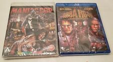 NEW ~ Bubba Ho-Tep Collector's Ed & Maniac Cop ARROW Bruce Campbell Blu-ray LOT