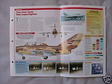 Aircraft of the World Card 10 , Group 4 - Mikoyan-Gurevich MiG-15 'Fagot'