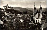 Gößweinstein fränkische Schweiz Ansichtskarte ~1950/60 Teilansicht mit Basilika
