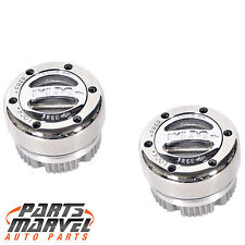 Stainless 4x4 Locking Hub Dana 44 Axles 1/2-3/4 Ton Ford Chevy Dodge Jeep