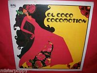 EL COCO Cocomotion LP 1977 ITALY MINT- rare on Derby label