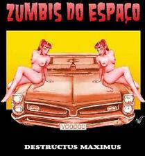Zumbis do Espaço - Destructus Maximus Braz Horror Punk Misfits RARE!