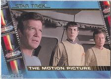 STAR TREK THE COMPLETE MOVIES CHARACTER LOGS INSERT SET C1-C10 (10)