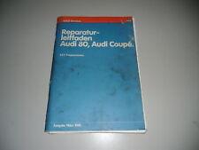 Werkstatthandbuch Audi Typ 81 1,6 l Motor Vergaser 1981