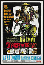 7 faces of Dr. Lao Tony Randall movie poster print