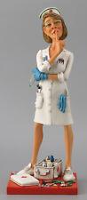 """Guillermo Forchino Comic The Nurse Forchino Art Figurine Sculpture Statue 17.5"""""""