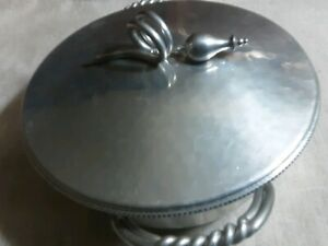 B W Buenilum Hammered Serving Bowl with lid