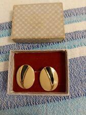 Clip On Earrings? Vgc Lovely Art Deco Vintage Cream